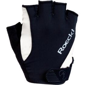 Roeckl Basel Handschoenen, zwart/wit